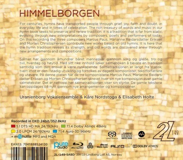 Uranieborg Vokalensemble - Himmelborgen Back
